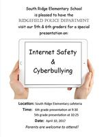 Internet Safety and Cyber Bullying