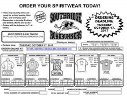 South Ridge Spirit Wear