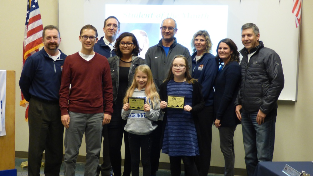 Ridgefield School District Honors Employee and Students of the Month for November