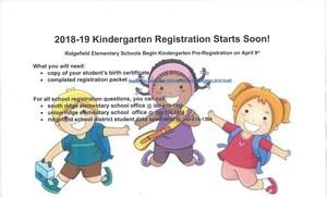 2018-2019 Kindergarten Registration
