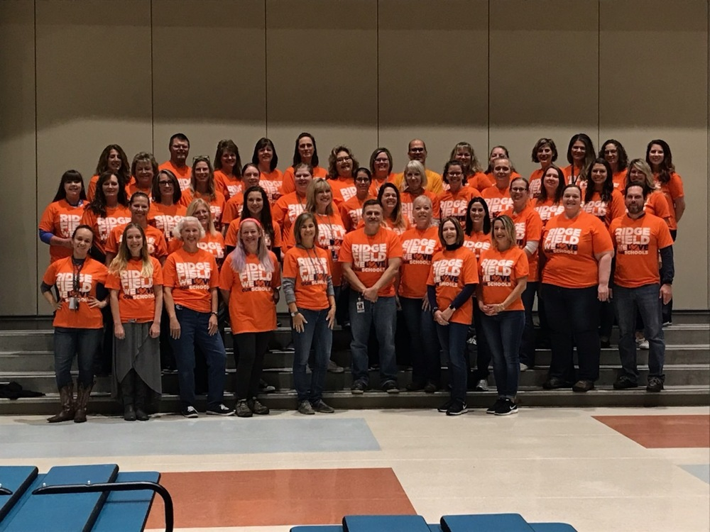 Union Ridge Staff Stand United