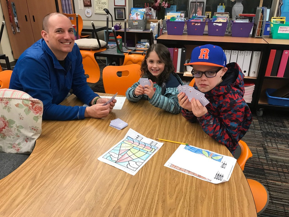Literacy/Math Night Pictures