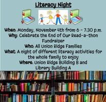 Save the Date Family Literacy Night