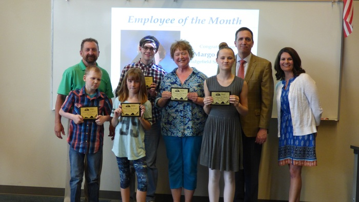 May 2018 Employee and Students of the Month Recognized at RSD Board Meeting