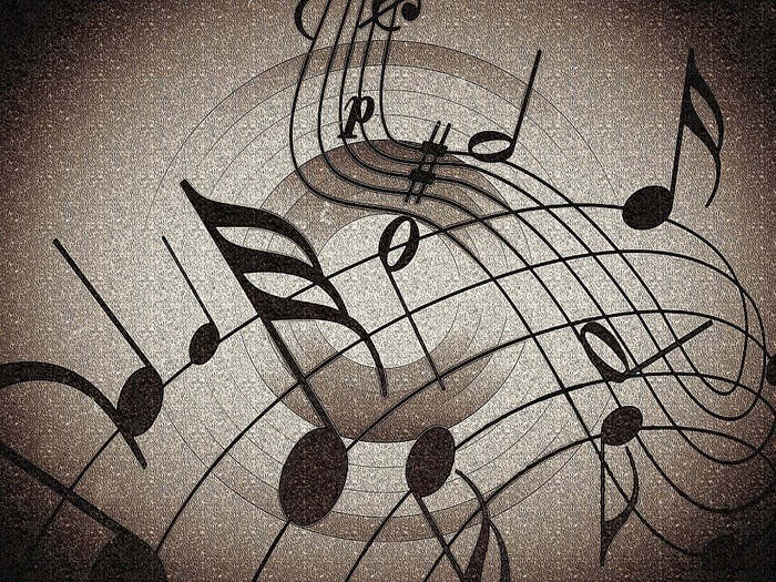 Sheet music graphic