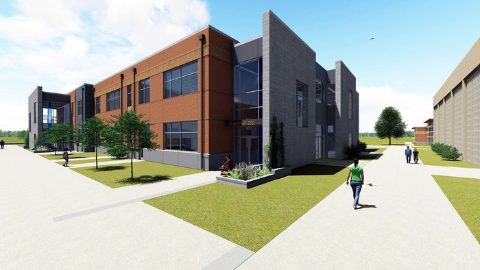 Architectural rendering of RHS expansion project project