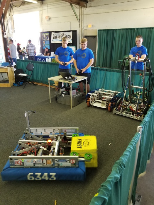Steel Ridge Robotics at Clark County Fair 2018