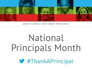 National Principals Month graphic