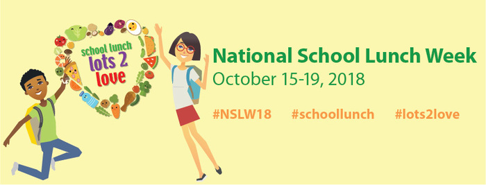 National School Lunch Week banner