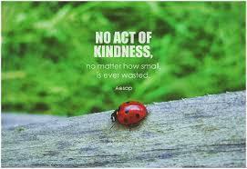 Kindness quote from Aesop.