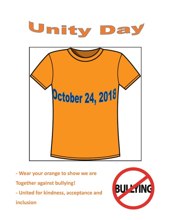 Unity Day flyer
