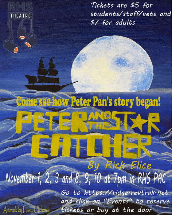 Peter and the Star Catcher Poster