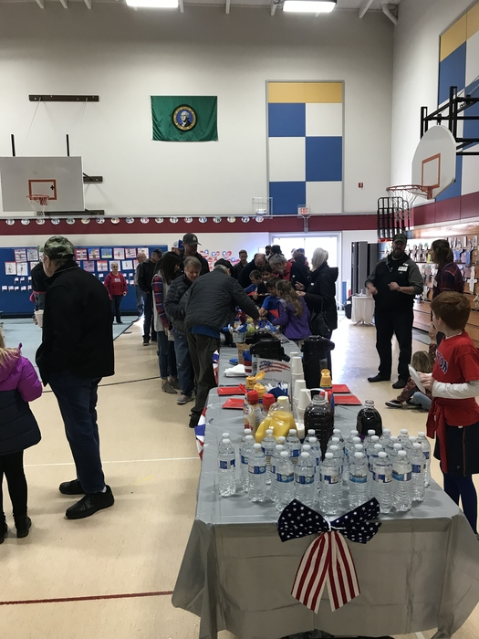 Thank you Union Ridge PTO for providing a wonderful brunch for our veterans and their families.