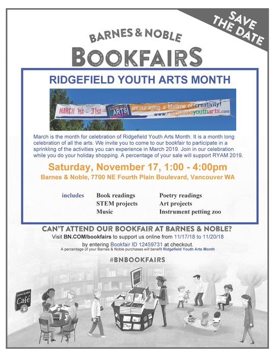 Barnes & Noble Book Fair Flyer Nov 17 2018