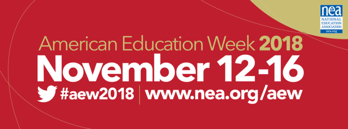 American Education Week 2018 banner