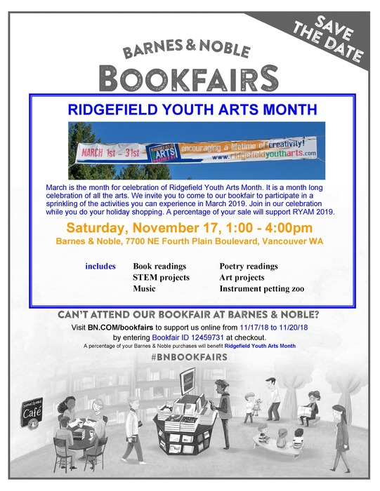 Barnes and Noble Book Fair flyer 11/17/18
