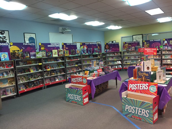 Union Ridge Elementary's Book Fair 2018