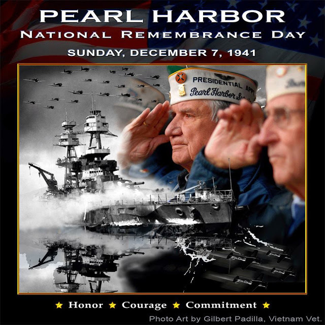 Pearl Harbor Remembrance Day graphic