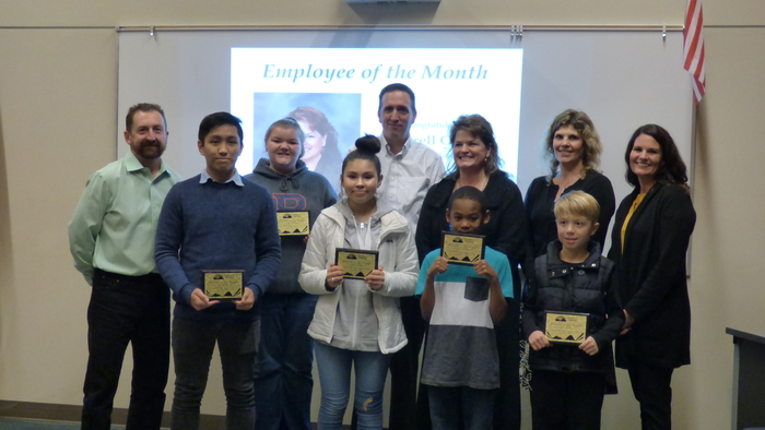 December 2018 Employee and Students of the Month