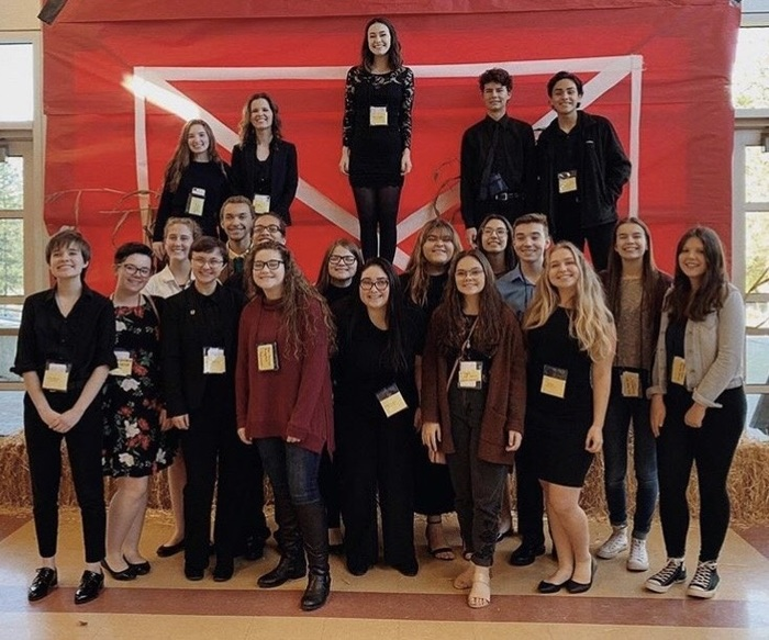 Ridgefield High School Thespian Troupe 2018-19