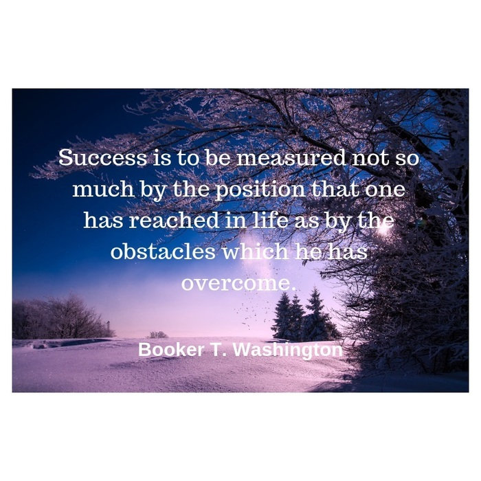 Quote for the Week - Booker T. Washington