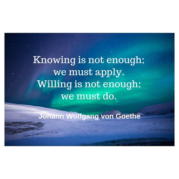 Quote for the Week - Johann Wolfgang von Goethe