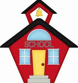 Schoolhouse icon graphic