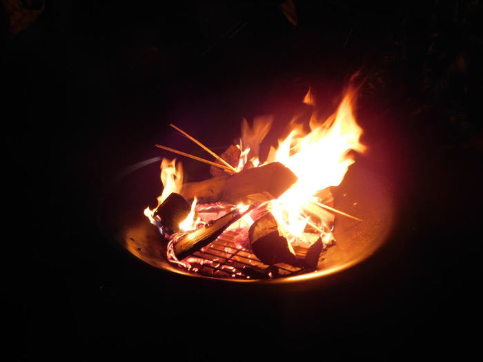 Cispus campfire photo