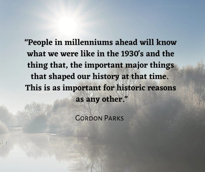 Gordon Parks quote