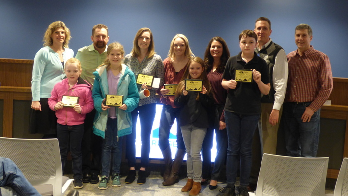 Feb 2019 Employee and Students of the Month