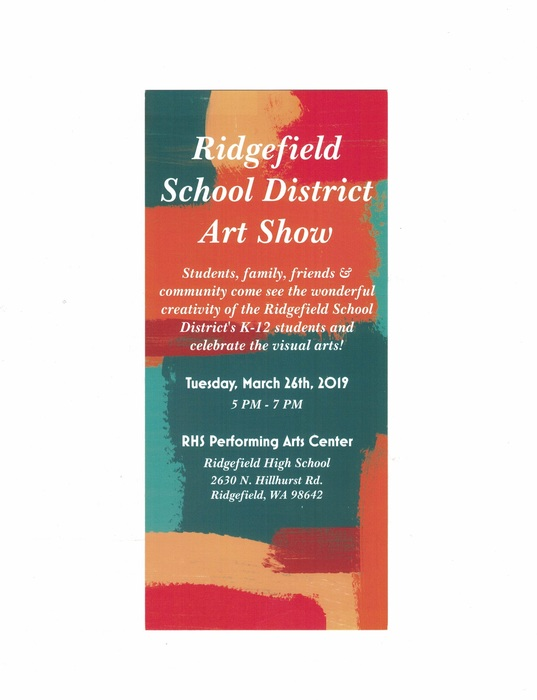 Ridgefield School District Art Show