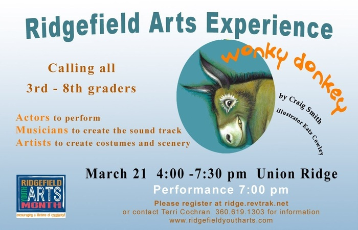 Ridgefield Youth Arts Experience poster 2019