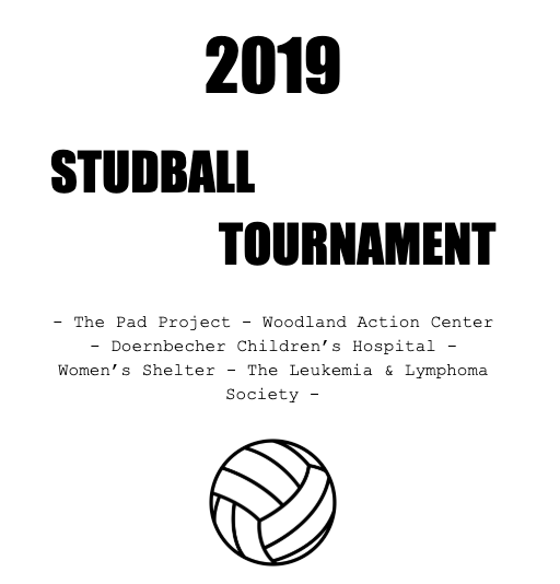 2019 Studball Tournament flyer