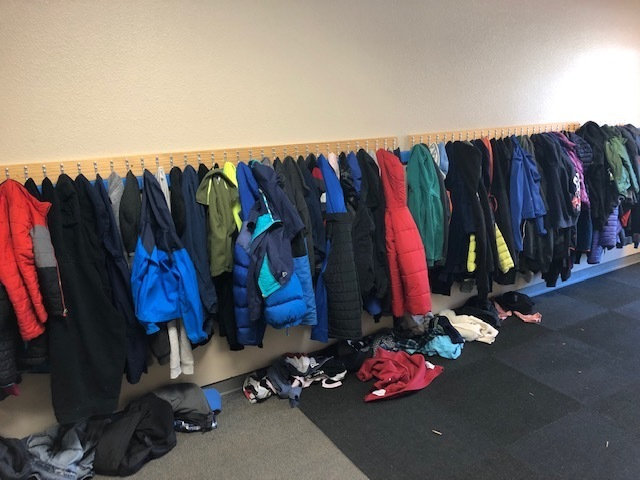 Lots of coats