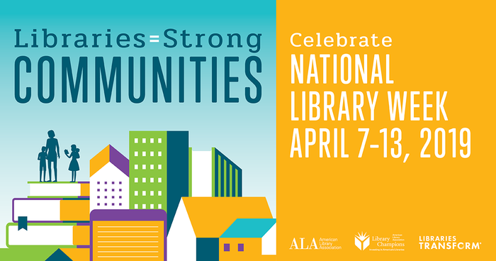 National Library Week 2019 graphic