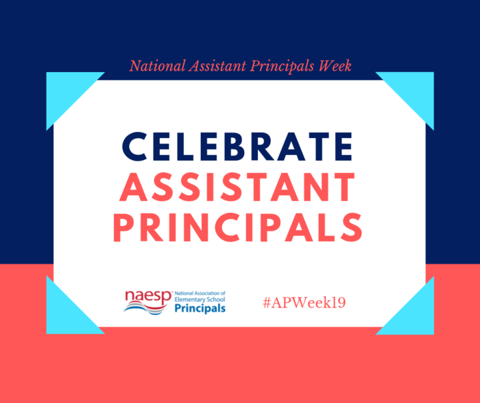 National Assistant Principals Week graphic