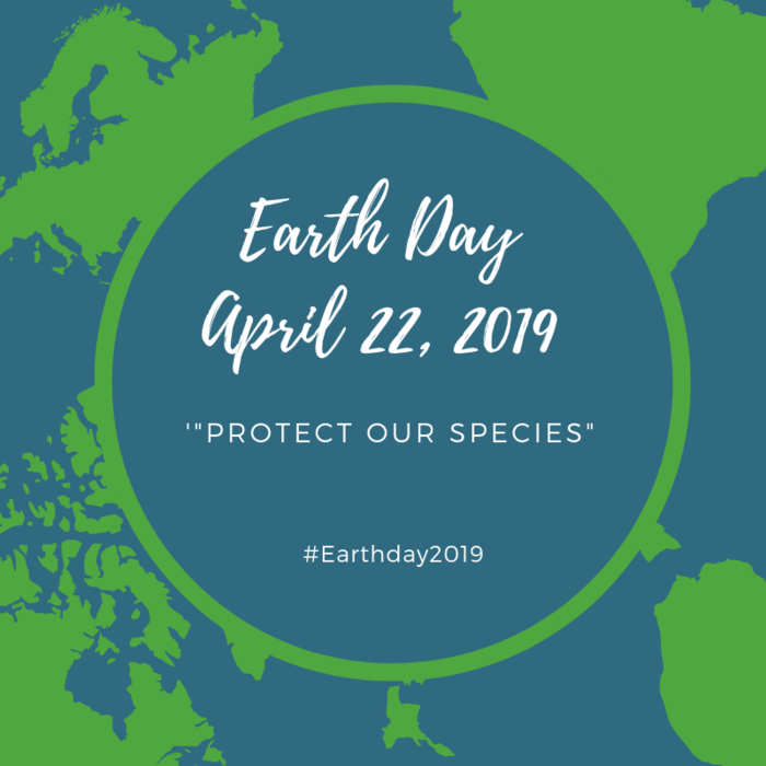 Earth Day 2019 graphic