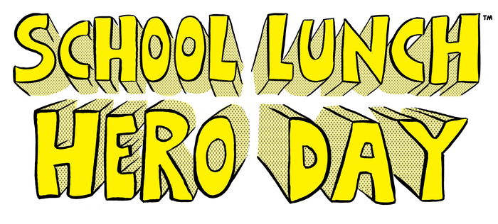 School Lunch Hero Day logo
