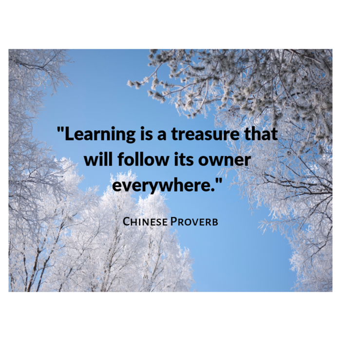 Quote from a Chinese proverb