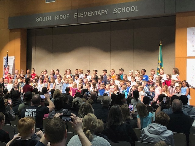 2nd graders rocked their concert!!!