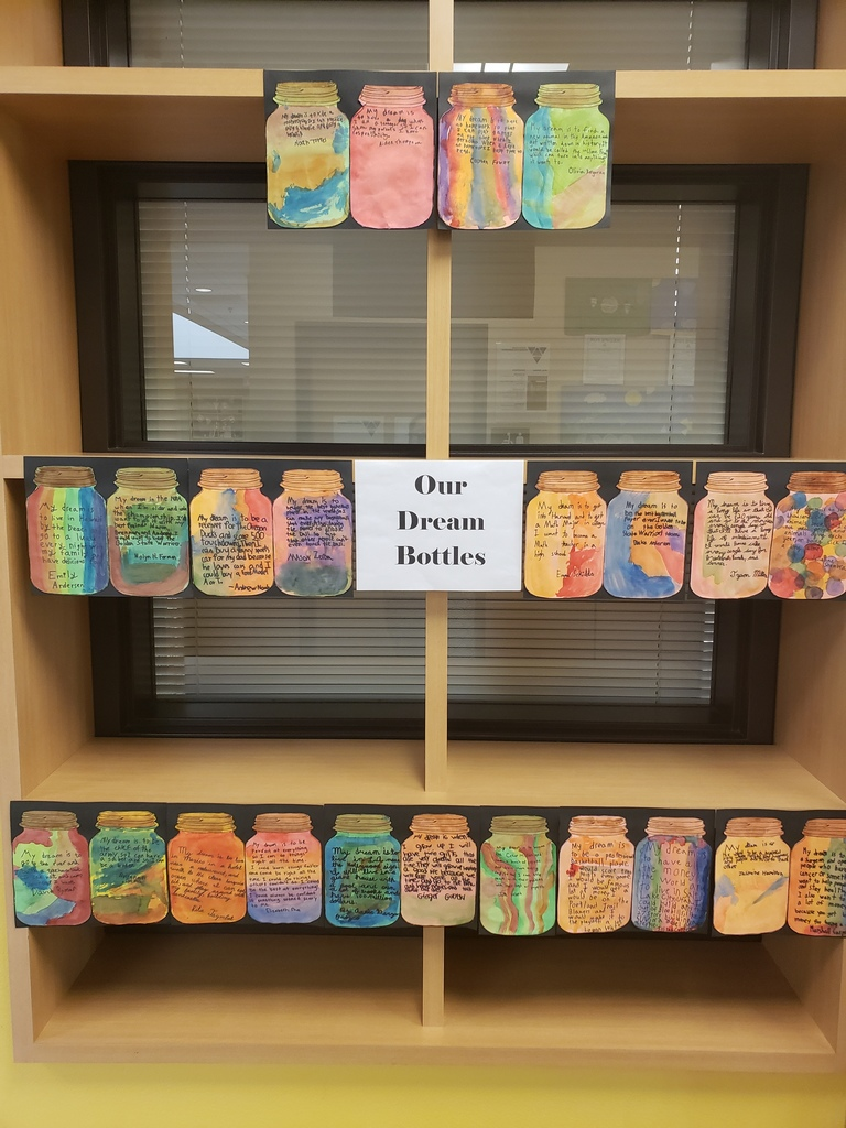 3rd grade Dream Jars