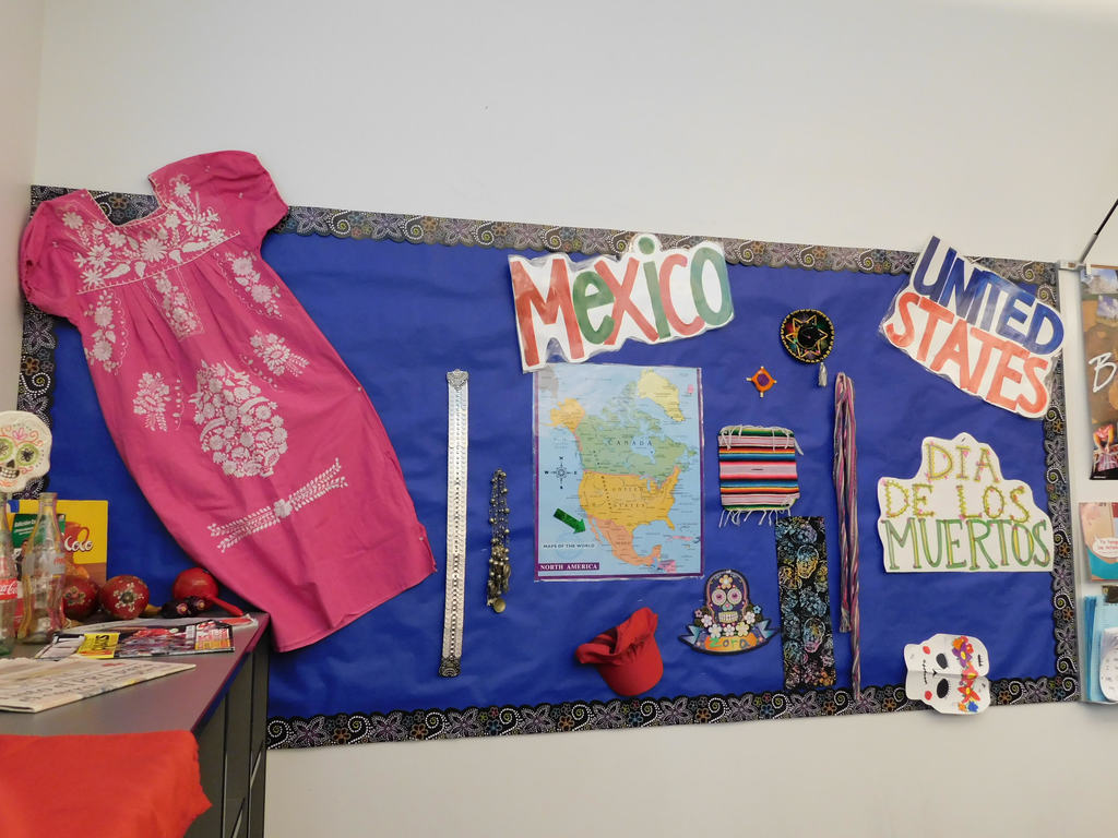 Mexican heritage display at View Ridge