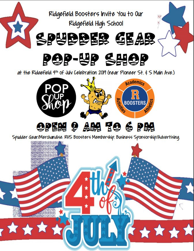 Spudder Gear Pop-Up Shop Flyer