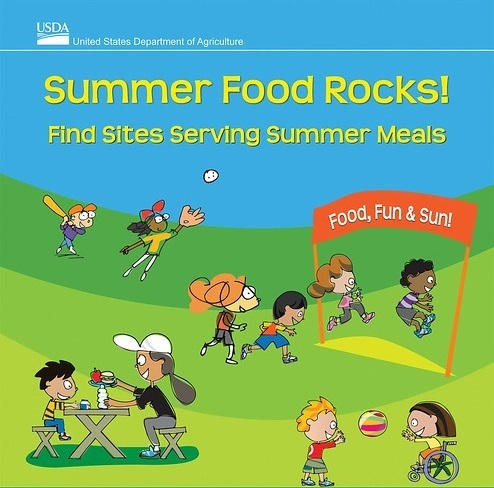 USDA flyer for summer food program