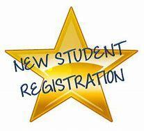 New student registration graphic