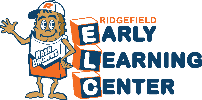 Ridgefield Early Learning Center mascot logo