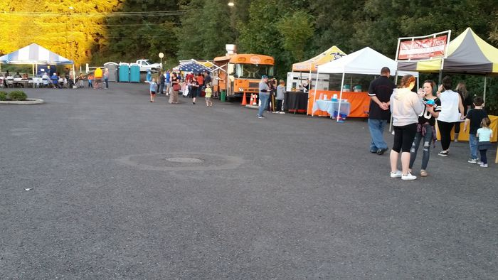 Food vendors at Experience Ridgefield 2016