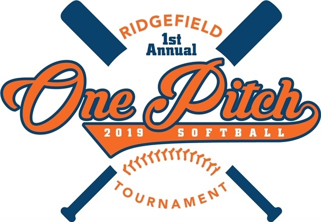 Ridgefield 1st Annual One-Pitch Co-Ed Softball Tournament logo