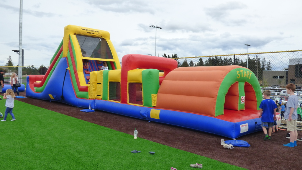 Bouncy houses Exp Ridgefield 2018