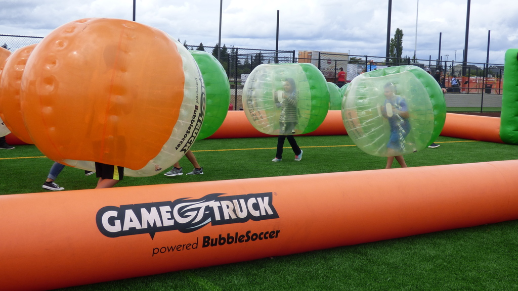 Bubble soccer Experience Ridgefield 2018